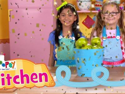 Lalaloopsy Kitchen: How to Make Cinnamon Sugar Apples   Episode 5   Lalaloopsy
