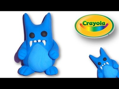 Making of Cute Monster from Crayola Model Magic