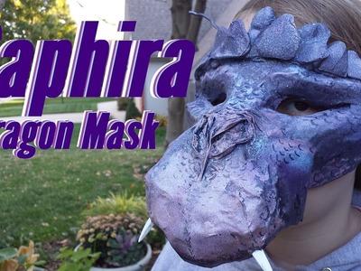 Saphira Dragon Halloween Mask (How To Make One Yourself)