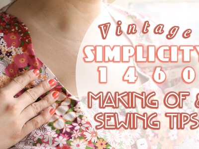 Simplicity 1460 Peplum, Tutorial and Tips