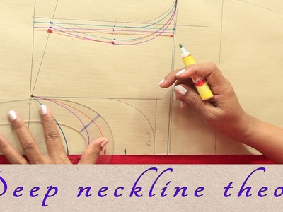 What changes to make when front and back neck is deep in a kurti or a dress