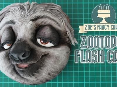 Zootopia cake Flash the sloth Zootropolis