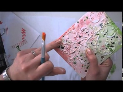 'Amazing you' mixed media journal cover tutorial for Limor Webber Designs