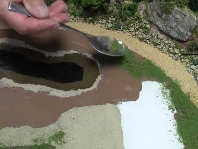 Basic Model Train Scenery Tutorial #4 - Creating a body of water