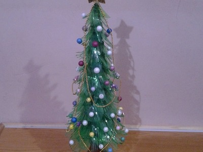 Best Out Of Waste Plastic Bottles Christmas Tree
