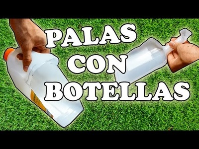 Cómo Hacer Palas con Botellas (2 modelos). How to Make Shovels with Bottles