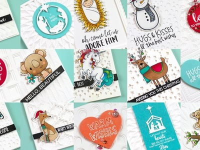 Crafting On-The-Go and Simple Textured Cards
