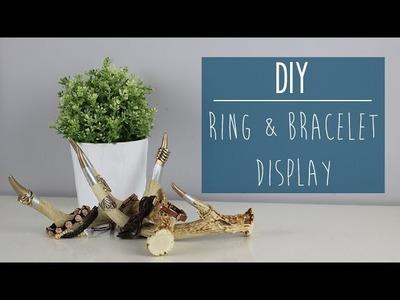 DIY | Ring & Bracelet Display