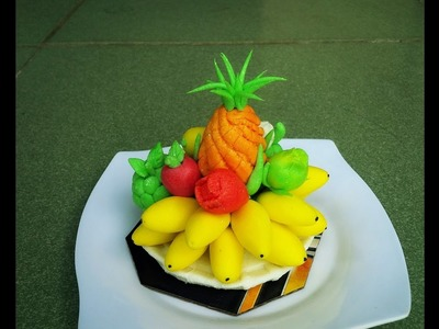 "How To Create A Fruit Platters From Rice Flour - ""Tò He"" Art"