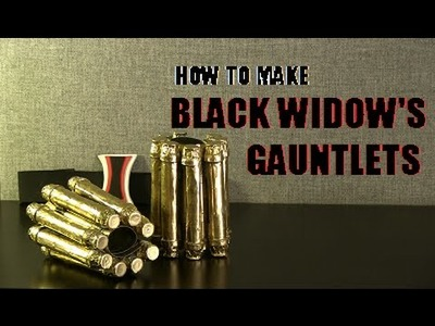 How to Make Black Widow's Gauntlets--Civil War