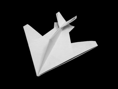 How to make: Origami Stealth Fighter (Robert J.Lang)