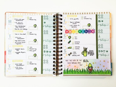 Inkwell Press Stamping Plan With Me 3-14 to 3-20