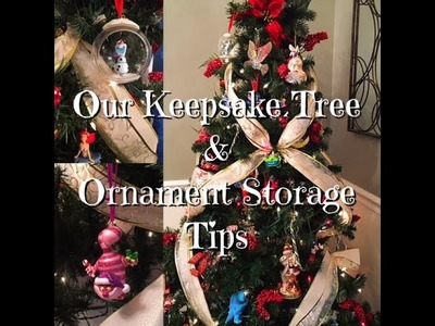 Keepsake Ornament Tree & Ornament Storage How -To