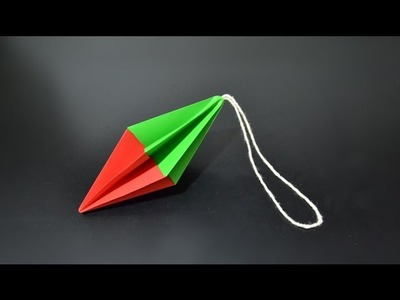Origami: Christmas Ornament - Instructions in English (BR)