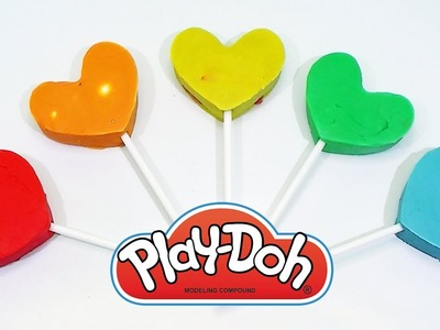 PLAY DOH RAINBOW HEART - peppa pig español kinder surprise eggs new & cars toys