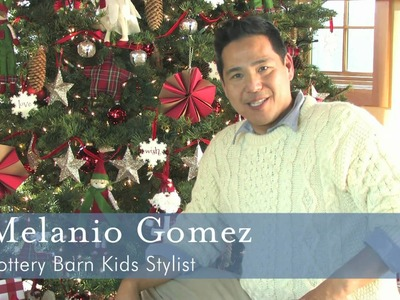 Pottery Barn Kids: How To Create Holiday Tree Ornaments with Melanio  Gomez