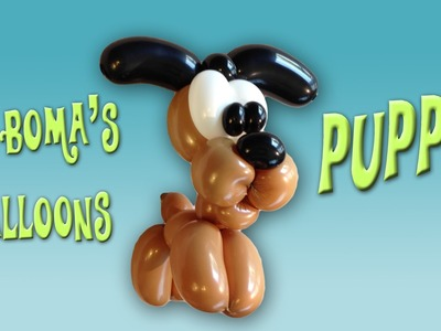 Puppy Dog Balloon Animal Tutorial (Balloon Twisting and Modeling #27)
