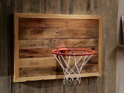 Ana White- Rustic Basketball Hoop How-To