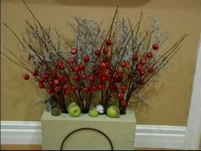 Creating a Warm & Inviting Entryway for Christmas : How to Use Plants to Create a Warm Entryway