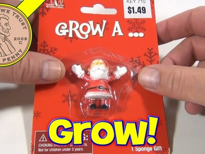 Day #1 - 24 Days of Christmas 2012 Advent Calendar (Grow A Santa) Santa Toy Contest