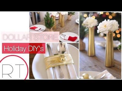 DIY Holiday Dollar Store Decor (EASY)