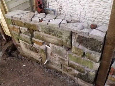 Home landscape project 1: Trellis, block wall, fence examples.