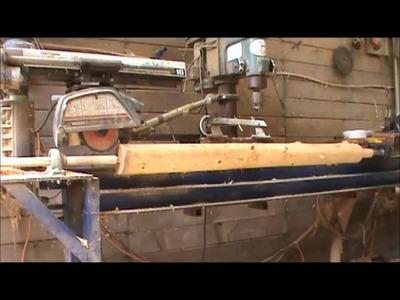How to Build a Simple Log Trellis ~ Part 1