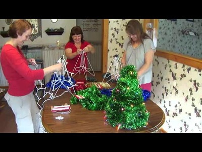 How To Make A Table Christmas Tree With Fun