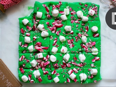 How to make.  Candy Cane Christmas Fudge!