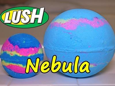 Lush - Nebula MONDO Bath Bomb - DEMO - Underwater View - Review Intergalactic HUGE!!
