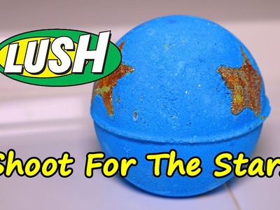 LUSH - Shoot for the Stars Bath Bomb - DEMO - Underwater View - Review Christmas 2016