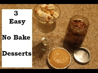 No-Bake Holiday Desserts | Thanksgiving and Christmas Dessert Ideas | Teresa Lawson