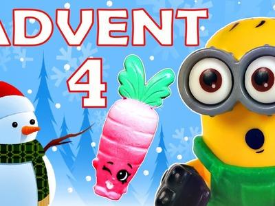 Toy Advent Calendar Day 4 - - Shopkins LEGO Friends Play Doh Minions My Little Pony Disney Princess
