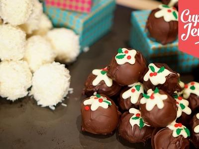 Two Recipes for Christmas Truffles! | Cupcake Jemma