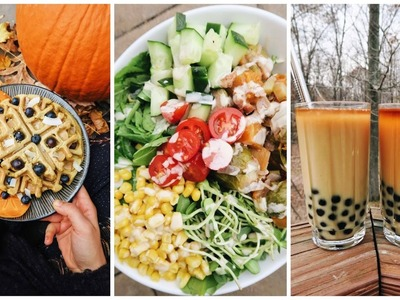 What I Eat In a Day at Home ❤ Delicious Vegan Meals