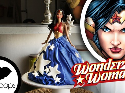 Wonder Woman Doll Cake | How To