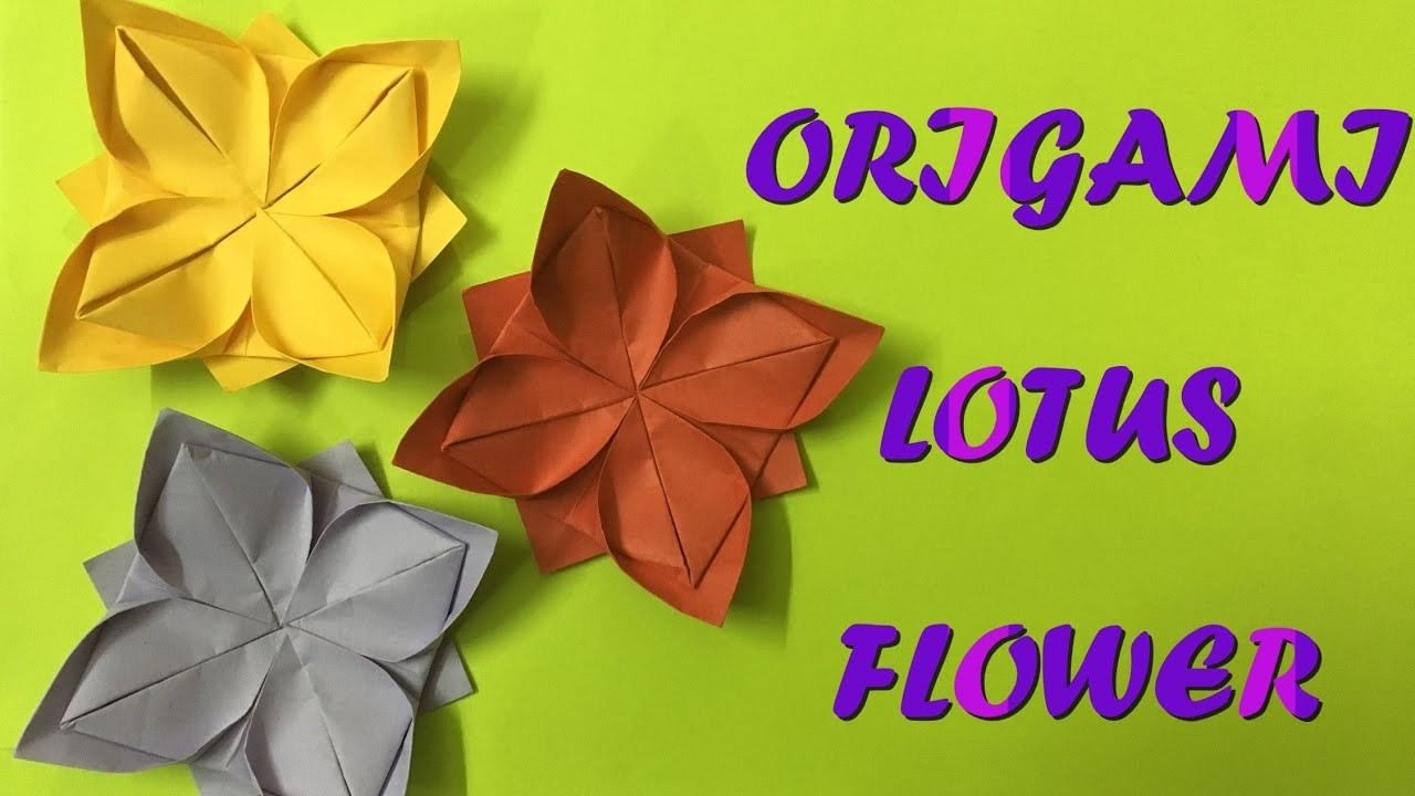 How to make a origami lotus flower youtube 4408684 114searchfo how to make an origami lotus flower youtubemodular origami lotus flower with 8 petals tutorialleyla torres youtubeorigami clover flower instructions izmirmasajfo