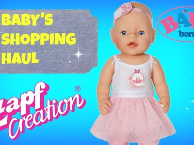 A HAUL for my BABY DOLL! Baby Born Doll's haul
