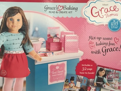 American Girl Doll ~ Grace's Baking Read & Create Kit Review