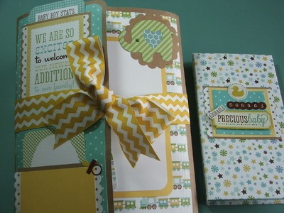 BABY BOY FOLIO AND BRAG BOOK - Bundle of Joy