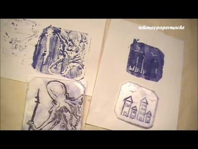 Come Play Around With Styfoam Printing at the Studio