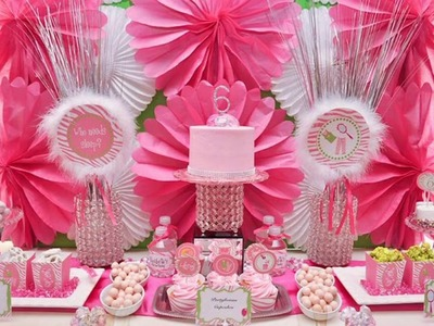 Cute Princess themed birthday party decorating ideas