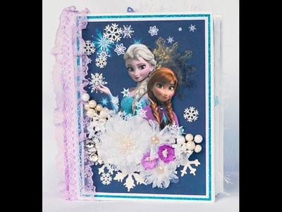 Disney Frozen Mini Album J&S Hobbies and Crafts Design Team Project
