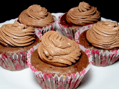 Easy Chocolate Cupcake - Pressure cooker cupcake recipe - Cupcake in Microwave