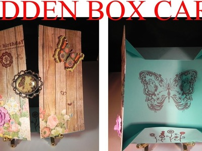 Hidden Box Card Tutorial