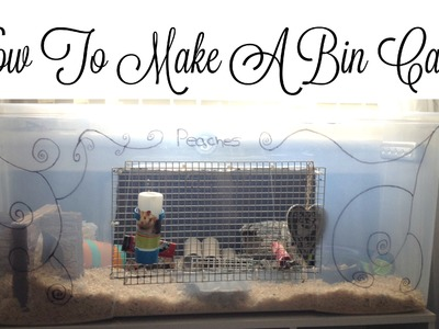 How To: Build A Bin Cage (Step By Step Tutorial)