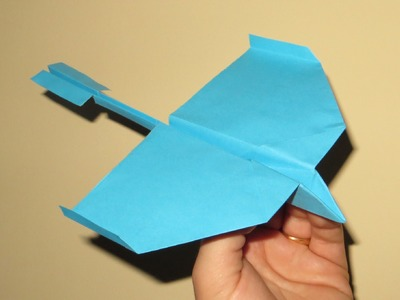 How to Make Cool Paper Airplanes that Fly Far and Straight - Very Easy - Video 12