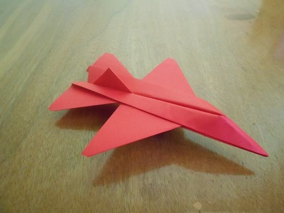 How To Make Paper Airplane F 16 - Easy Paper Plane Origami Jet Fighter For Kids - Origami Paper