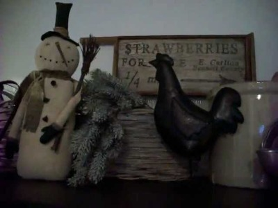 Making Primitive Christmas Dolls- PART 1 -Crafting With Pamela