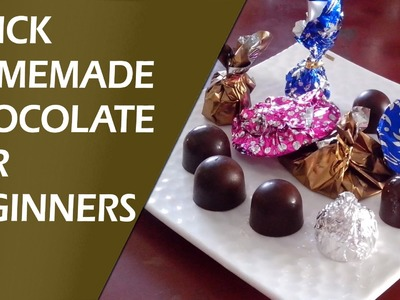 Quick Homemade Chocolate Recipe for Beginners by KALPANA TALPADE